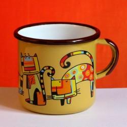 MUG CUP 4 CATS 0.25 L