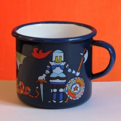 MUG CUP KNIGHT, DRAGON... 0.25 L