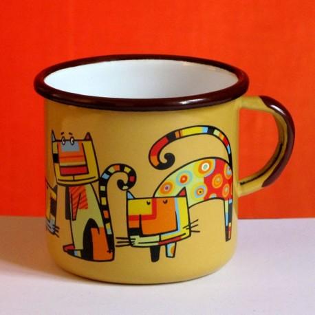 MUG CUP 4 CATS - 0.25L