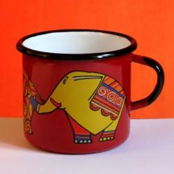 MUG CUP ELEFANTS 0.25 L