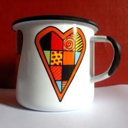 MUG CUP HEARTS 0.25 L