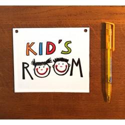 PLAQUE KID'S ROOM